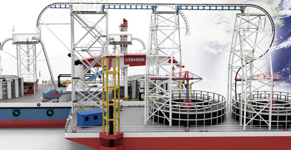 Nelton - Cable Storage Barge - Advanced engineering